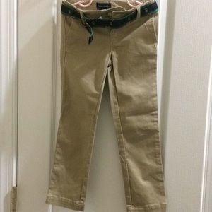 New Girl Ralph Lauren Khaki Pants